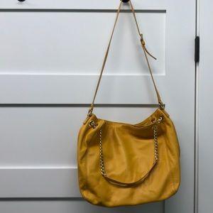 Michael Kors mustard yellow bag